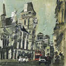 The Royal Courts of Justice, London by Susan Brown