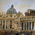 The Vatican, Rome by Susan Brown