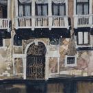 Sunny Facade, Venice by Susan Brown