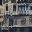 Front Facade Venetian Palazzo by Susan Brown