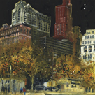 Battery Park, New York by Susan Brown