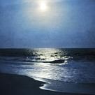 Moonlit Seas - Detail by Pete Kelly