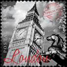 London Stamp by The Vintage Collection