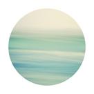 Coastal Hush - Sphere by Irene Suchocki
