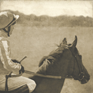 Vintage Equestrian - Wait by Pete Kelly