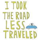Road Less Traveled by Virginia Kraljevic