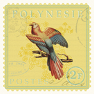 Exotic Birds I by Gwen Aspall