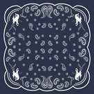Bandana Pattern - Cowboy by The Vintage Collection