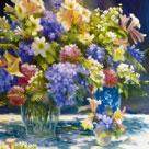 Flowers in Radiance by Judy Talacko
