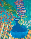 The Blue Vase by Hedy Klineman