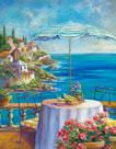 Dejeuner Sur La Cote D'azur I by Ginger Cook