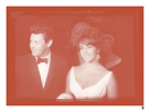 Elizabeth Taylor with Eddie Fisher In Colour by British Pathe