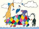 Horace Hippo II by Kate Mawdsley