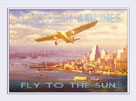 Southern Airlines - Fly to The Sun by The Vintage Collection