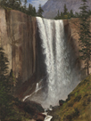 Vernal Falls, 1863 by Albert Bierstadt