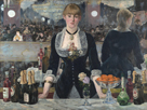 A Bar at the Folies-Bergre by Edouard Manet
