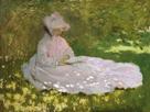 Springtime, 1872 by Claude Monet