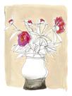 Floral Lineation II by Katrien Soeffers