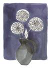 Floral Lineation III by Katrien Soeffers