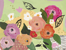 Sofia's Flowers I by Juliette McGill