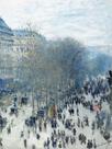 Boulevard des Capucines, 1873 by Claude Monet