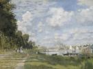 Le Bassin d'Argenteuil, c.1872 by Claude Monet