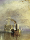 The Fighting Temeraire - Detail by J.M.W. Turner