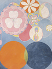 Childhood, The Ten Largest, No.2, Group IV, 1907 by Hilma af Klint