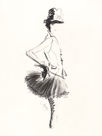 Black Tulle by Jane Hartley
