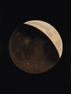 Partial Eclipse of the Moon by Etienne Leopold Trouvelot