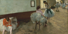 The Dance Lesson, c.1879 by Edgar Degas