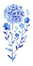 Flowering Flax by Ulla Lapiolahti
