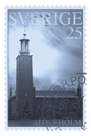 Retro Stamp VI by The Vintage Collection