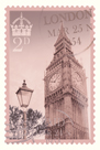 Retro Stamp VII by The Vintage Collection