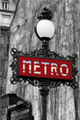 Le Metro Rouge by Bill Philip