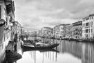 Traghetto Blu - BW by Joseph Eta
