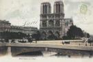 Notre-Dame et le Pont by Stephanie Monahan