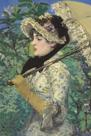 Printemps - Jeanne de Marsy by Edouard Manet