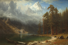 Mount Corcoran by Albert Bierstadt