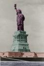 New York Postcard - Liberty by Chris Dunker