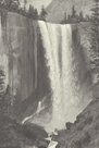 Vernal Falls, 1863 - Vintage by Albert Bierstadt