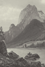 Rocky Mountains - Vintage by Albert Bierstadt