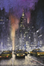 Violet Night by David Hinchliffe