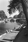 View of Pont Saint-Michel, Paris by Jules Dortes
