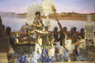 The Finding of Moses by Sir Lawrence Alma-Tadema
