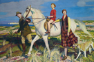 Four Loves I Found, a Woman, a Child, a Horse and a Hound by George Spencer Watson