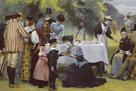 Wimbledon Tennis Party by Edward Brewtnall