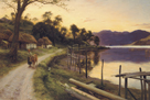 On the Way Home by Joseph Farquharson