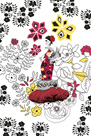 Folklorico Dama by Emilie Ramon