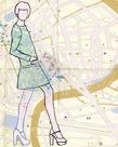 Carte de la Mode I by Clara Wells